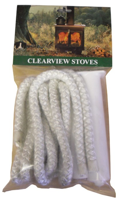 Clearview Stoves Door Rope & Adhesive