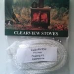 Clearview Stoves Glazing Kit